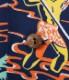 """Lot No. SS38316 / RAYON HAWAIIAN SHIRT """"TORCH FISHERMAN"""""""