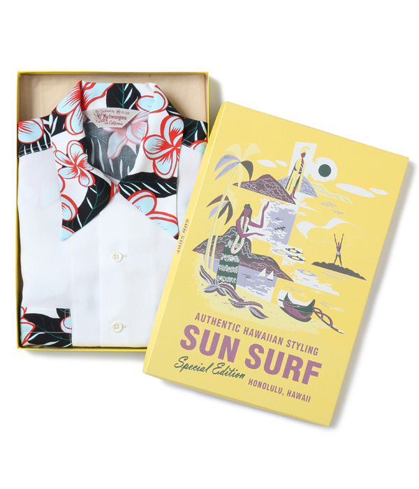 "Lot No. SS28422 / SUN SURF SPECIAL EDITION ""HULA GIRL"" (long sleeve)"