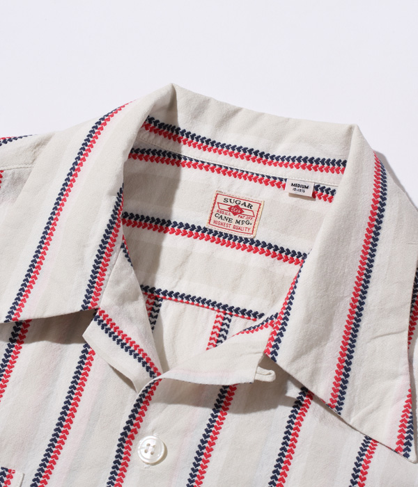 2021年4月28日入荷 / Lot No. SC38701 / HEART STRIPE OPEN SHIRT