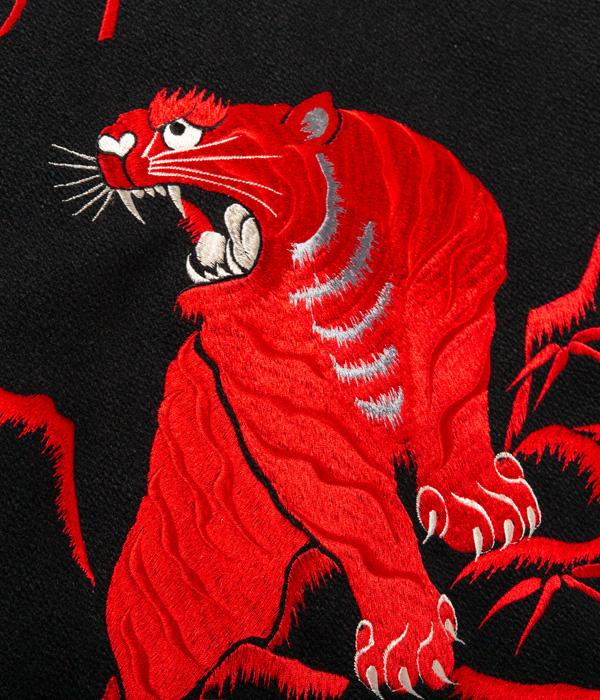 "Lot No. WV14737-119 / 30oz. WOOL MELTON AWARD JACKET ""TAILOR TOYO (RED TIGER)"""