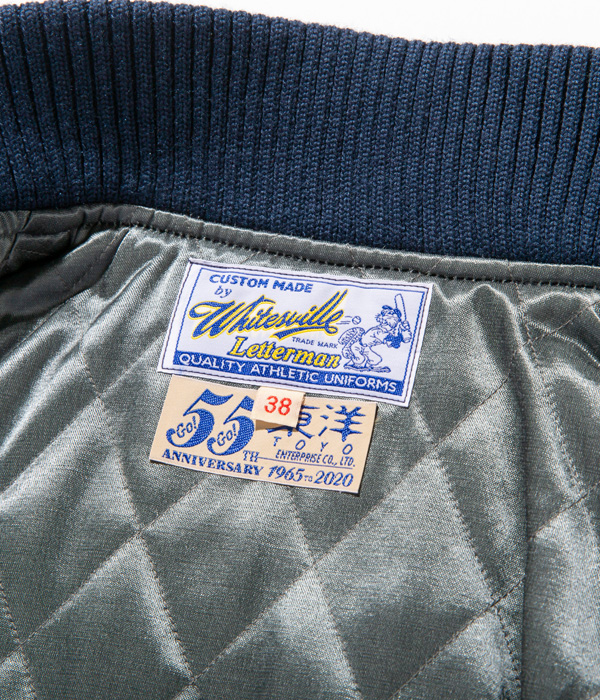 "Lot No. WV14735-128 / 30oz. WOOL MELTON AWARD JACKET ""TOYO ENTERPRISE 55th ANNIVERSARY"""
