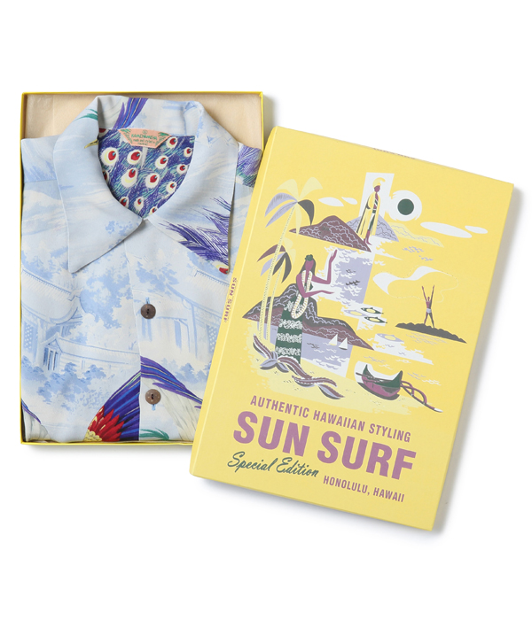 "Lot No. SS38421 / SUN SURF SPECIAL EDITION ""PEACOCK"""