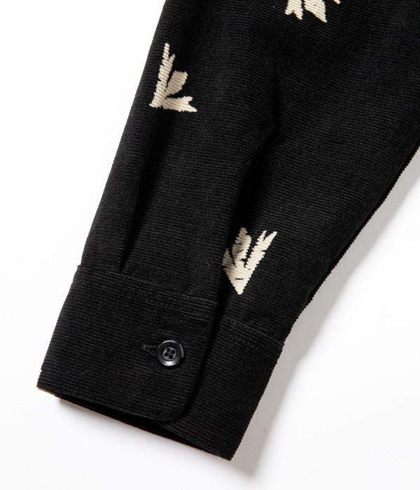 "Lot No. SE28533 / Mid 1950s Style Corduroy Sports Shirt ""THUNDER BIRD"""