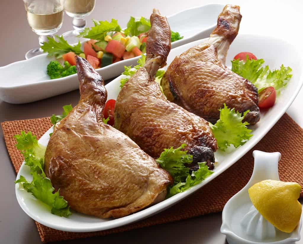三河赤鶏もも焼き3本