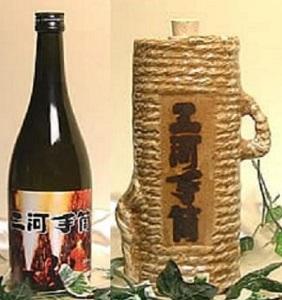 【手筒特製化粧箱入】手造り蔵伊勢屋酒造 三河手筒 大吟醸・純米酒飲み比べセット