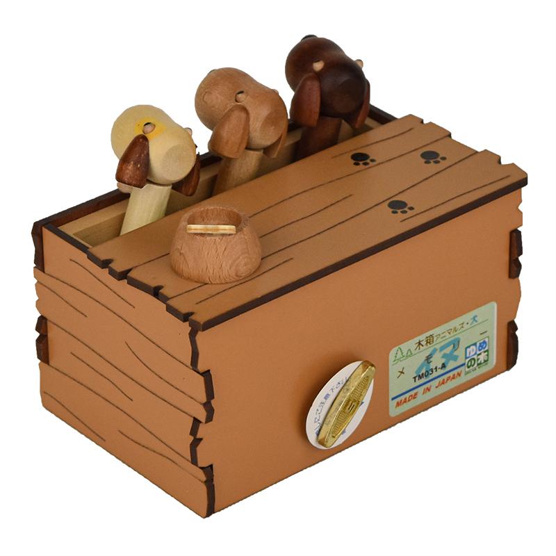 木箱アニマルズ 犬 (18弁)