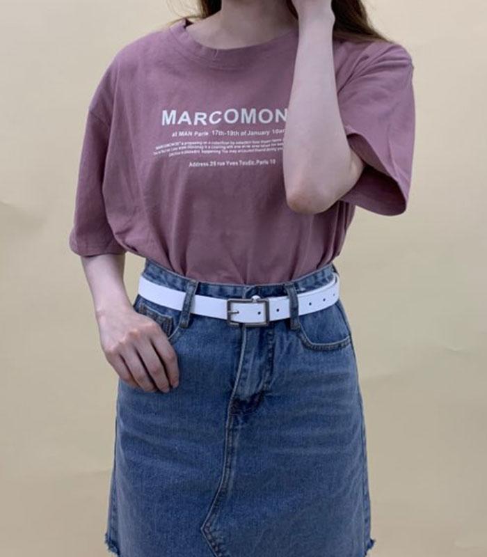 ロゴ入Tシャツ