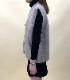 Heavy knit big size vest