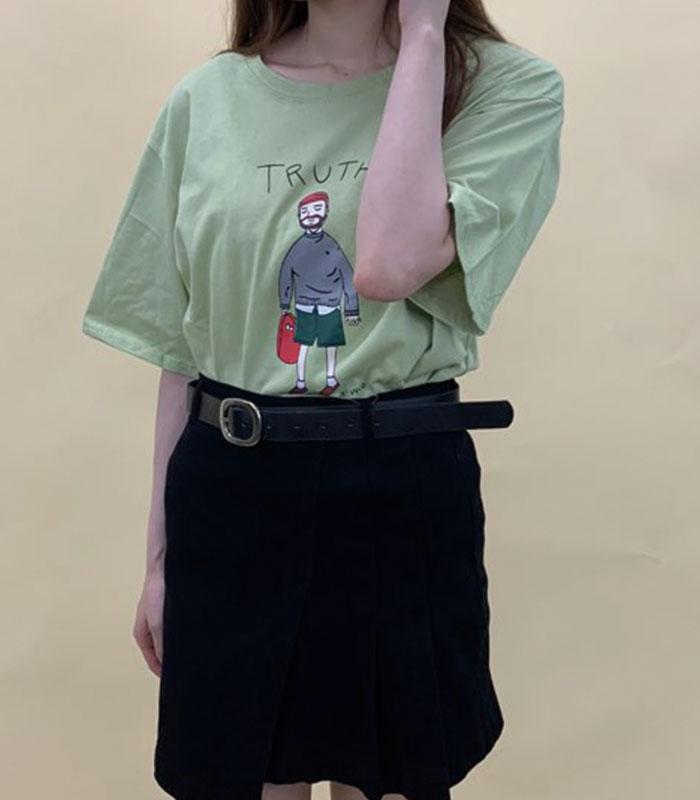 イラスト入Tシャツ