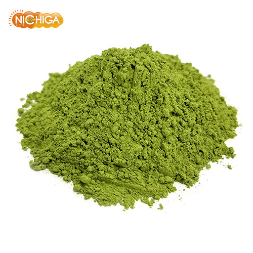 国産 桑の葉茶 110g(計量スプーン付) 無添加・無農薬・化学肥料不使用 桑の葉粉末 100%パウダー [02] NICHIGA(ニチガ)