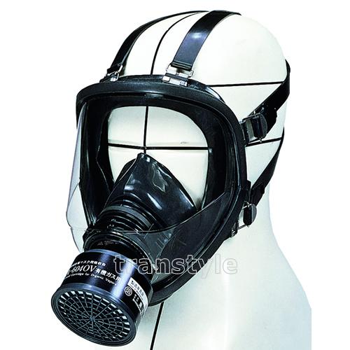 【送料無料】 シゲマツ/重松防毒マスク GM164 Mサイズ 【ガスマスク/作業】