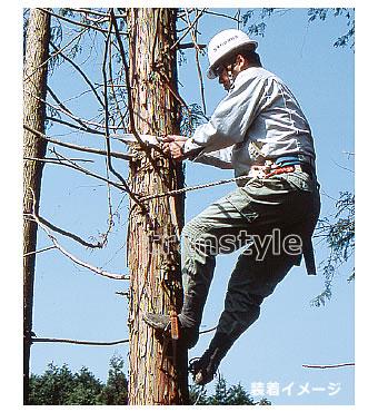 【送料無料】藤井電工安全帯/ツヨロン 木登り器 FR-100 林業用安全器具 【ロープ/ベルト/作業】