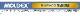 耳栓 耳せん【モルデックス】ロケッツ6400 (1箱/50組) (遮音値27dB) Moldex 正規品 【睡眠 遮音 騒音 防音 イヤーマフ みみせん いびき 勉強 集中 聴覚過敏 飛行機 作業用】