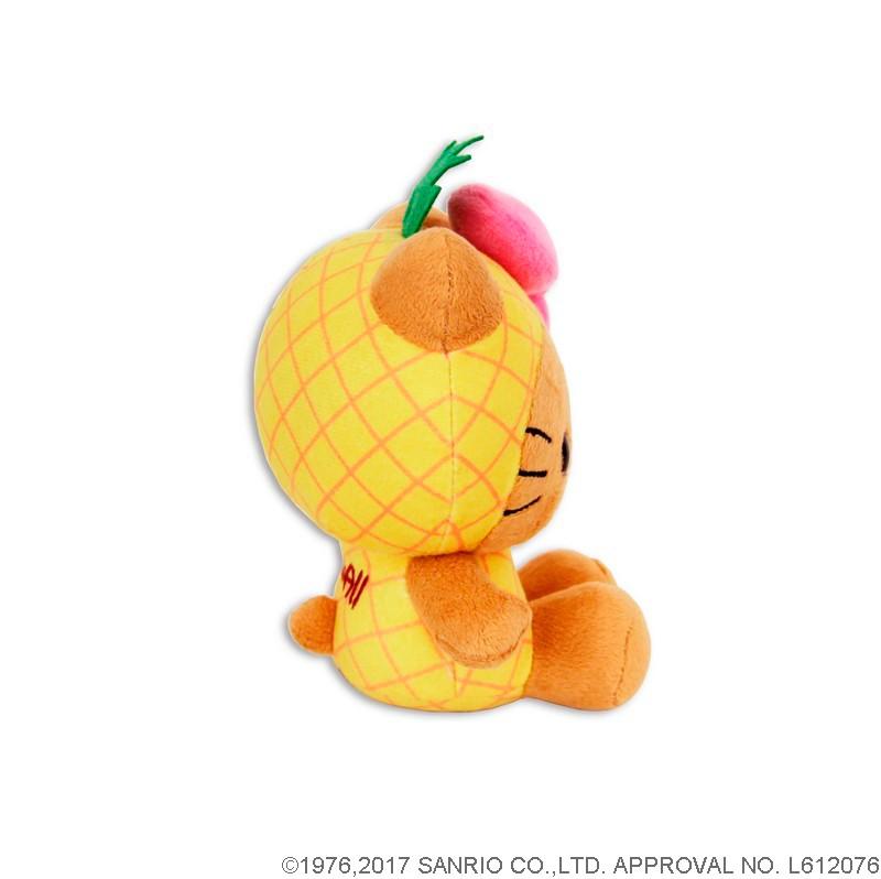 日焼けハローキティ×パイナップル ぬいぐるみ