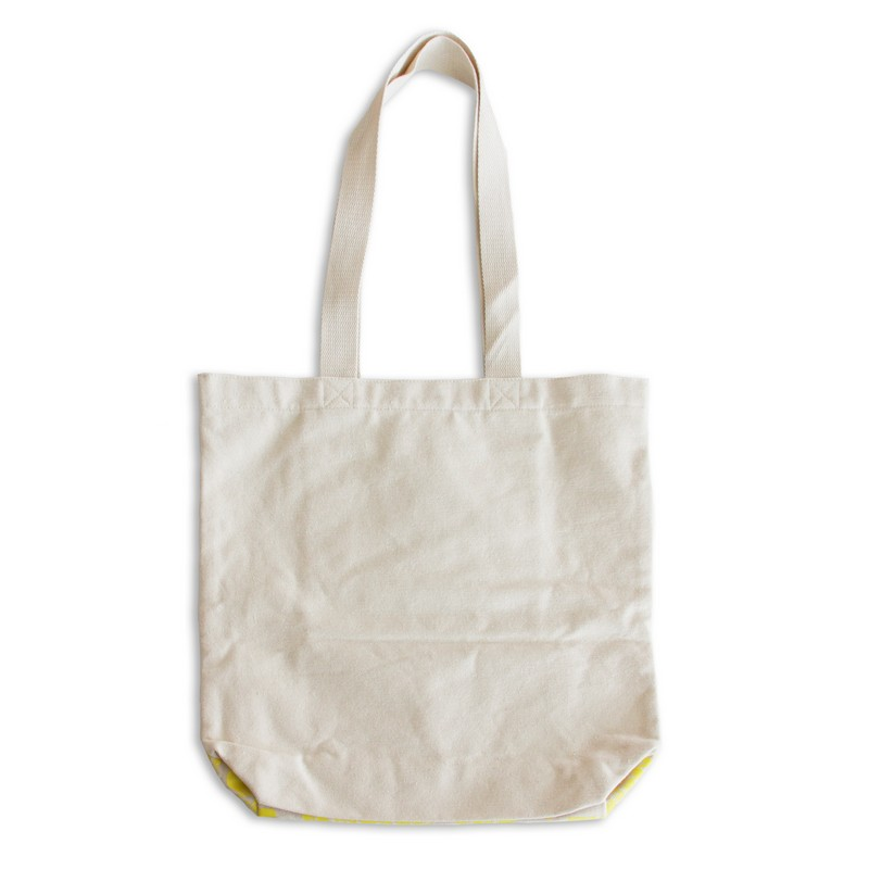 パイナッチ 刺繍トートバッグ
