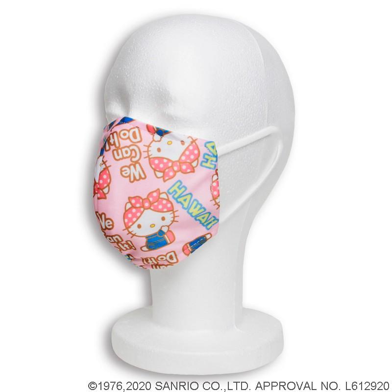 接触冷感マスク ハローキティ×ロージー