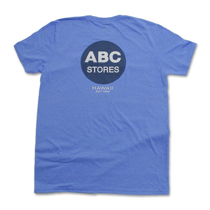 クルーネックTシャツ ABCクラシック ロイヤルヘザー
