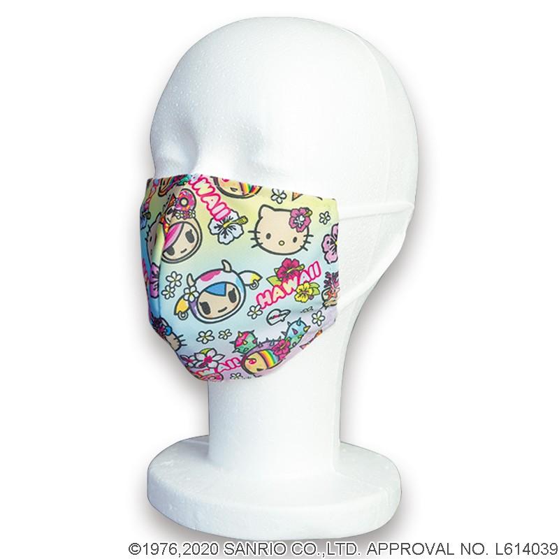 ウォッシャブルマスク tokidoki×Hello Kitty