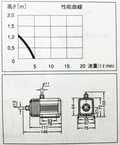 吸水ポンプM5(水陸両用)
