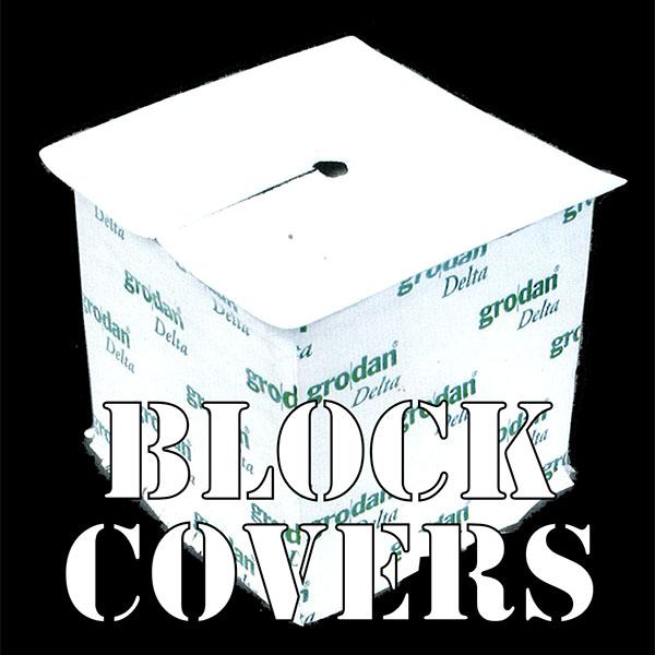 [10cm角用] BLOCK COVER (40枚入り)