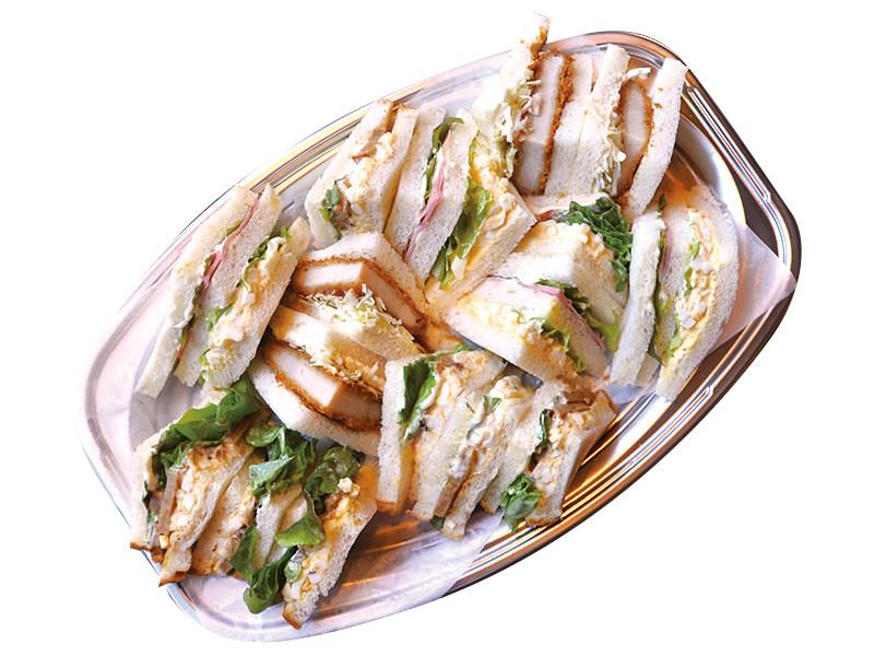 サンドイッチ盛り M (受け渡しの2日前までに要予約)