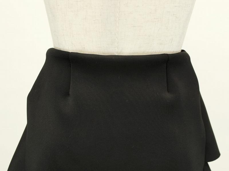 段々フリルボンディングスカート