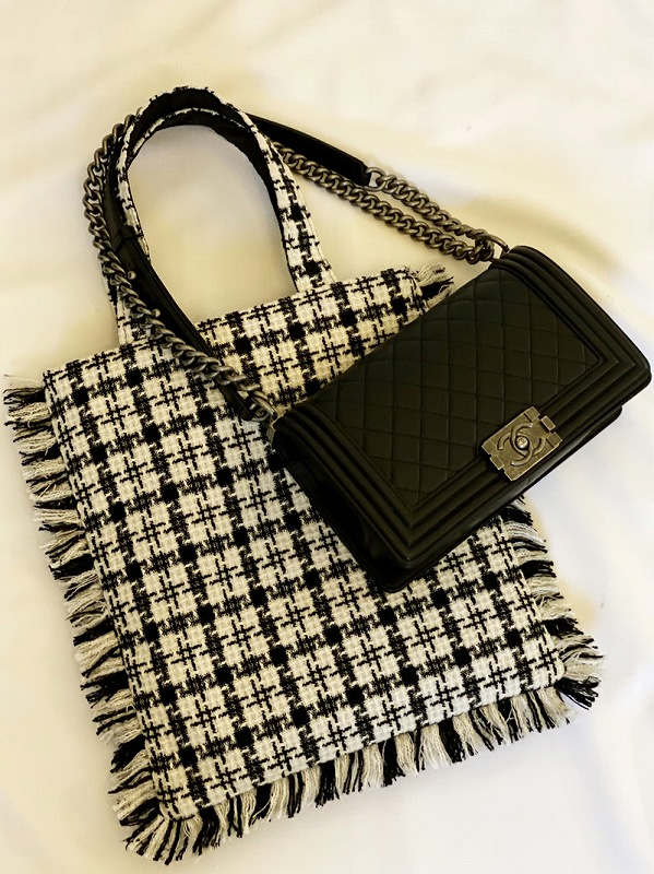 tweed bag(monotone)