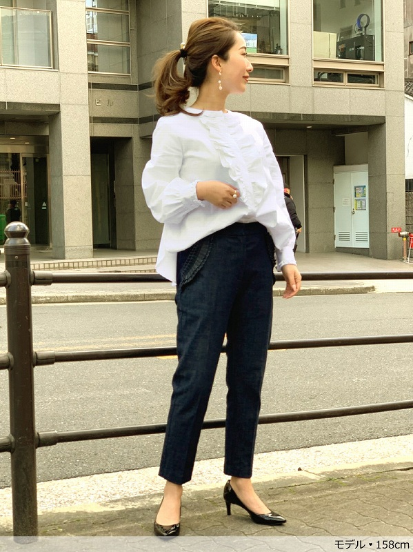 フリルシャツ【mother.jp×TREFLE+1】
