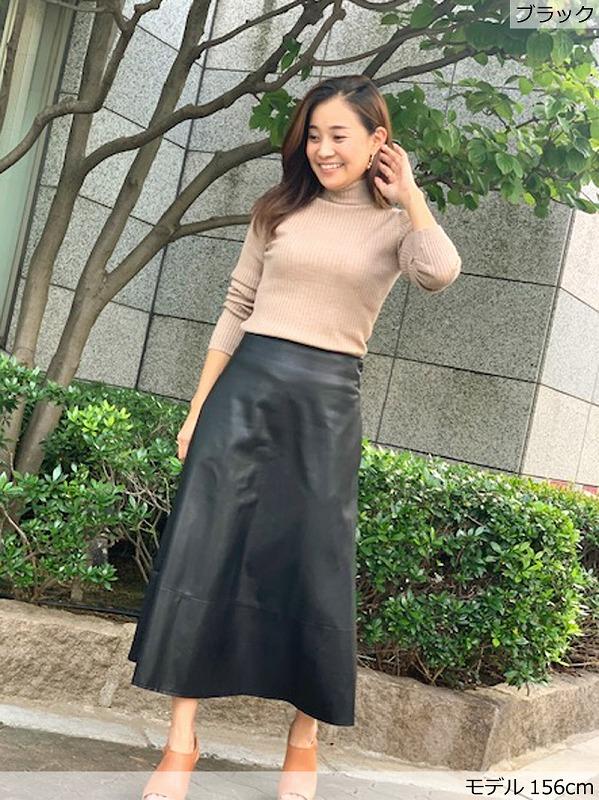 エコレザースカート