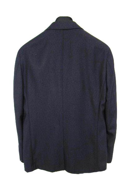 【OUTLET】 ミラショーン メンズジャケット ネイビー ネップ柄 44C(AB4) 46C(AB5) 48C(AB6) 50C(AB7) mgb1