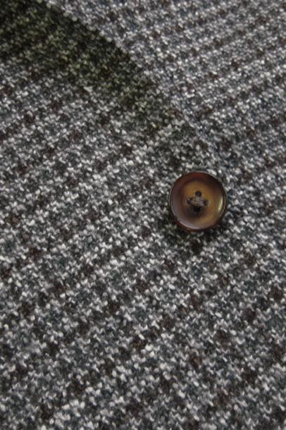 ミラショーン メンズジャケット ガンクラブチェック グリーン バーベリス社素材使用 50R(A7) 44C(AB4) 46C(AB5) 48C(AB6) 50C(AB7) 01