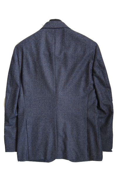 【OUTLET】 ミラショーン メンズジャケット ブルー 変化織 50R(A7) 42C(AB3) 46C(AB5) 48C(AB6) 50C(AB7) 42G(BB3) 44G(BB4) 02