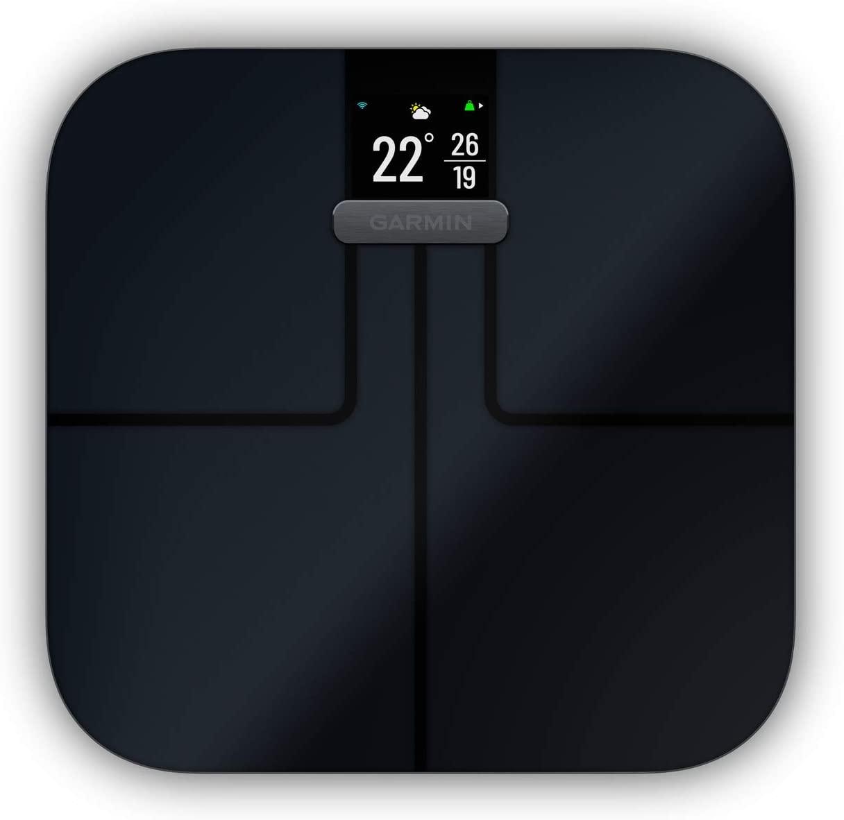 GARMIN(ガーミン) Index S2 Smart Scale 【BMIや体脂肪率、骨格筋量、体内水分量、骨量もGarmin Connectに瞬間データ転送】