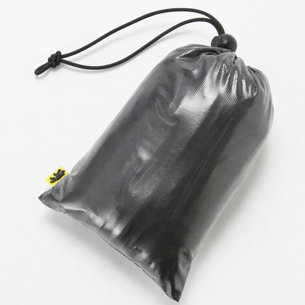 KAPELMUUR(カペルミュール)クリアレインジャケット ブラック