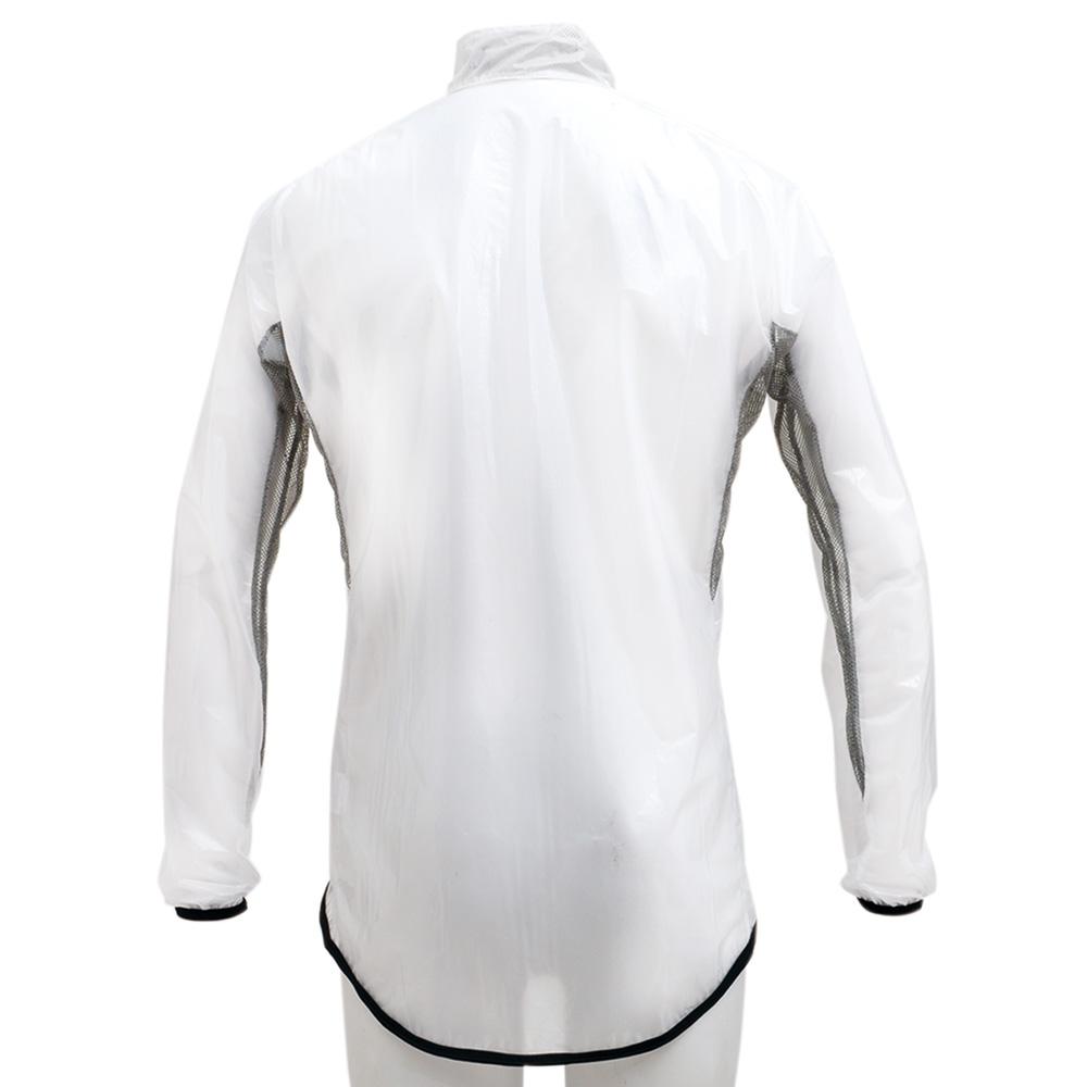 KAPELMUUR(カペルミュール)クリアレインジャケット ホワイト