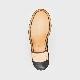 L5679 ANNE / ESPRESSO BURNISHED (LEATHER SOLE)
