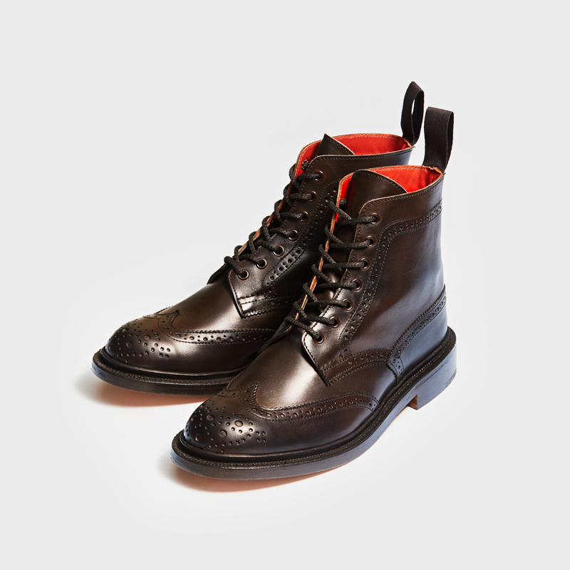 L5676 STEPHY / ESPRESSO BURNISHED (LEATHER SOLE)