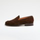 M4280 / CHOCOLATE REPELLO SUEDE (LEATHER SOLE)