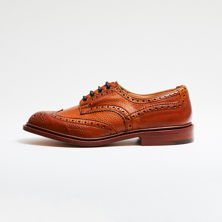 M5633 BOURTON / MARRON MUFLONE (ULTRAFLEX LEATHER SOLE)