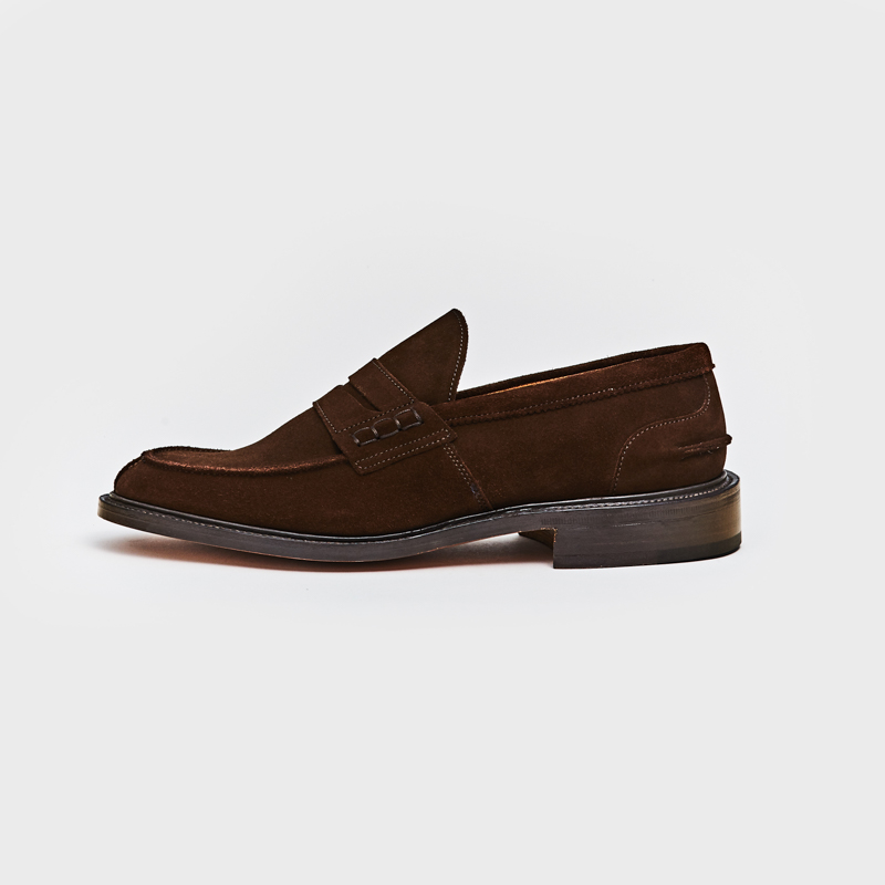 M3227 JAMES / CHOCOLATE REPELLO SUEDE (LEATHER SOLE)