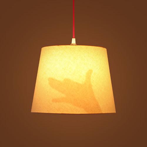 影絵ランプ・犬 / エアコンディションド