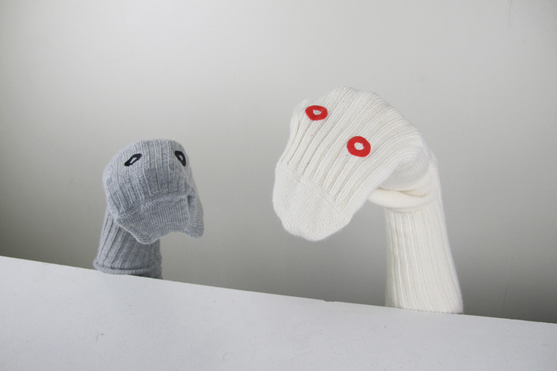 パペットソックス ナチュラル / デザイン・アゲインスト・トレンド