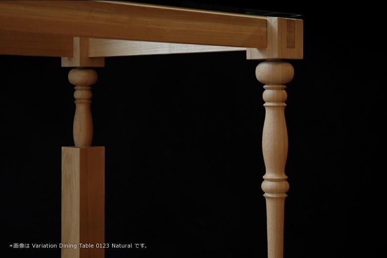 0123ヴァリエーション ローテーブル レッグスセットホワイト / エアコンディションド