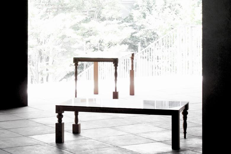 0123ヴァリエーション ダイニングテーブル レッグスセットナチュラル / エアコンディションド