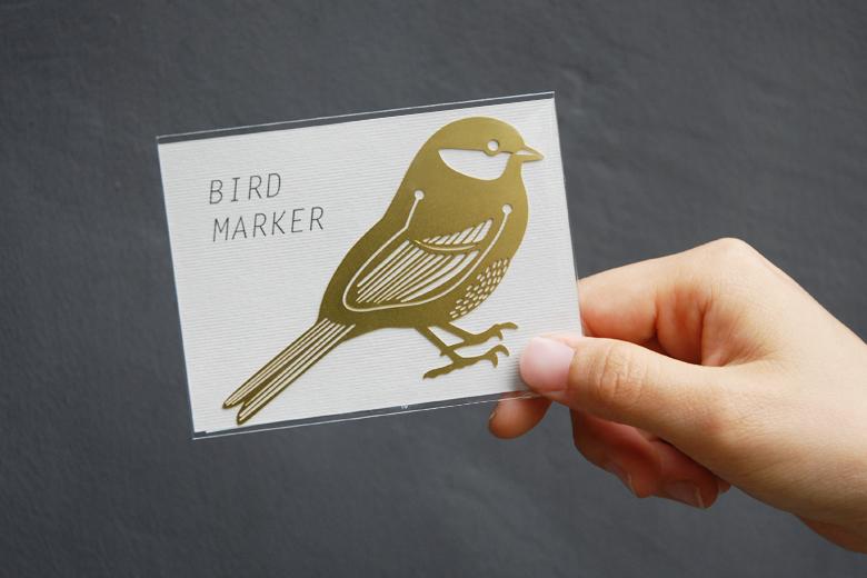 バード・マーカー (小鳥のしおり) ゴールド / フン・ミン