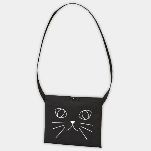 動物だーれだ?猫!(サコッシュバッグ・ブラック) /  サンデー・マーチング・バンド