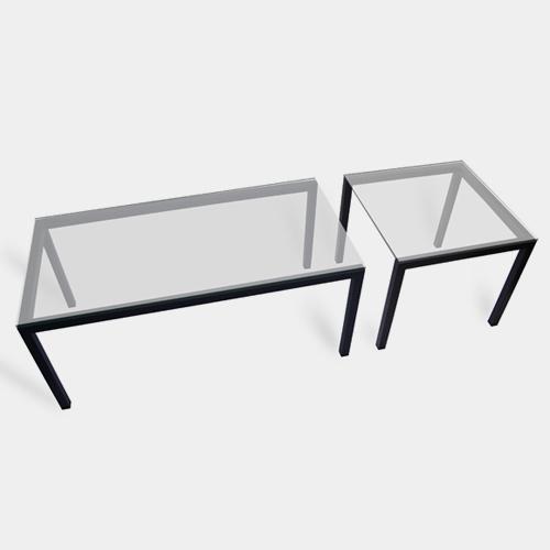 カラテチョップテーブル セット / エアコンディションド