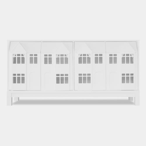 【取り扱い終了】 テラスサイドボード ホワイト / ウィリアム・ウォレン