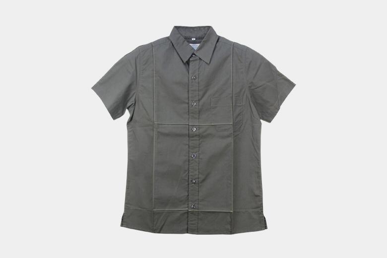 フォールデットハーフスリーブシャツ / デザイン・アゲインスト・トレンド