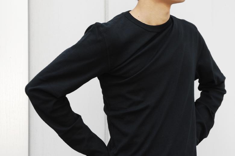 がっくりロングスリーブシャツ / デザイン・アゲインスト・トレンド